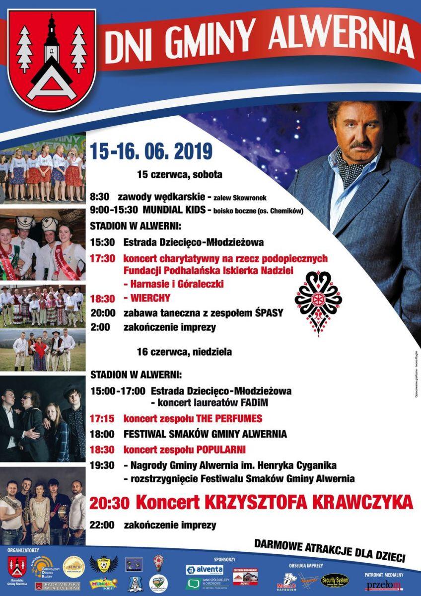 Dni Alwerni 2019 Koncert zespołu POPULARNI